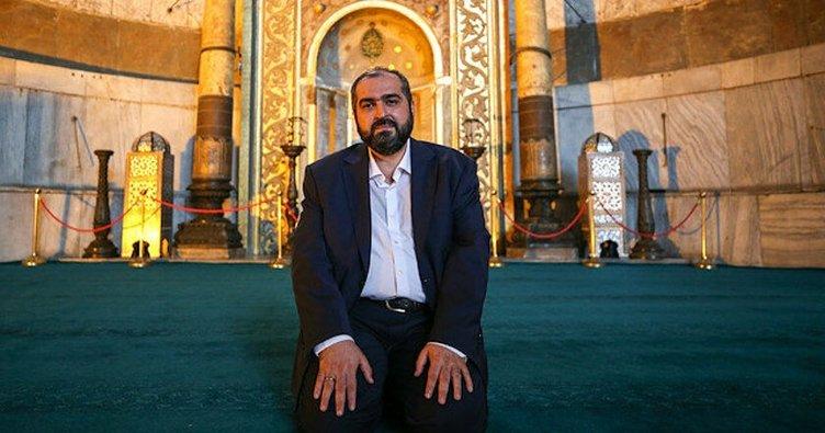 Ayasofya İmamı Mehmet Boynukalın Marmara Üniversitesi İlahiyat Fakültesi'ndeki akademik kariyerine geri döndü