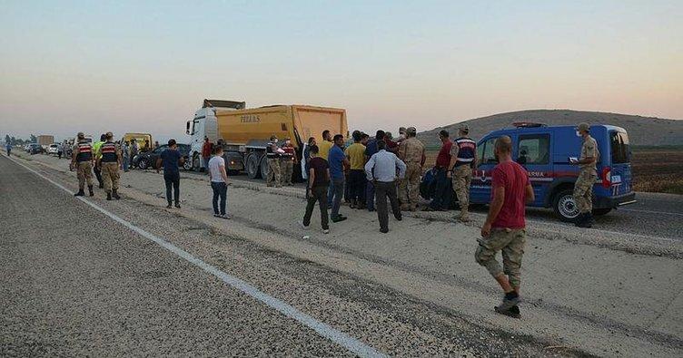 Hatay'da zincirleme kaza: 1 asteğmen öldü
