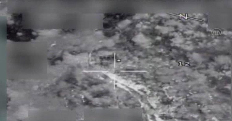 Çukurca'da hava harekatında 5 PKK'lı etkisiz hale getirildi