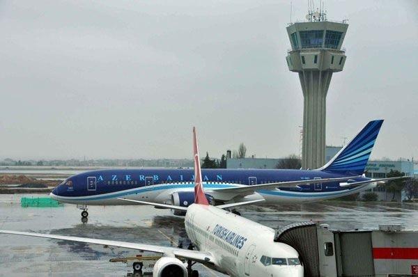 Rüya uçak Atatürk Havalimanı'nda