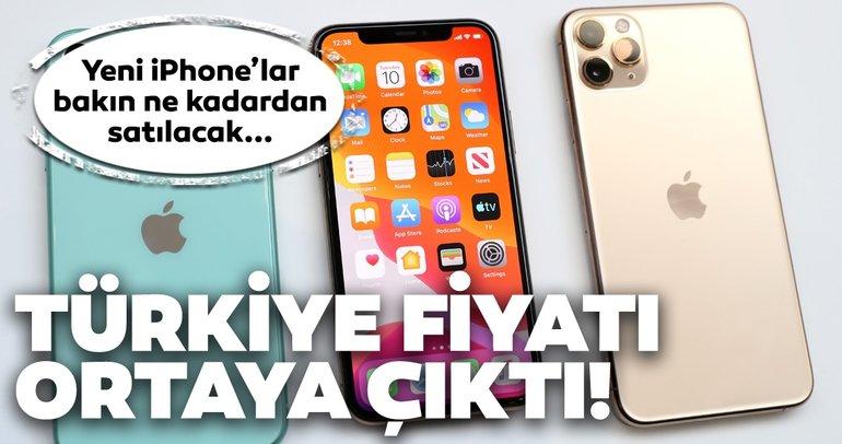 iPhone 11, iPhone 11 Pro ve Pro Max Türkiye fiyatı ve çıkış tarihi ortaya çıktı!