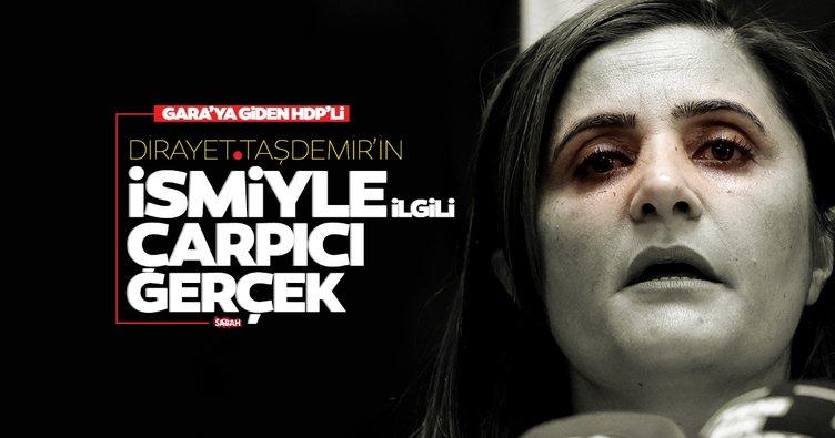 Son dakika | HDP'li Dilan Taşdemir'in ismiyle ilgili çarpıcı gerçek
