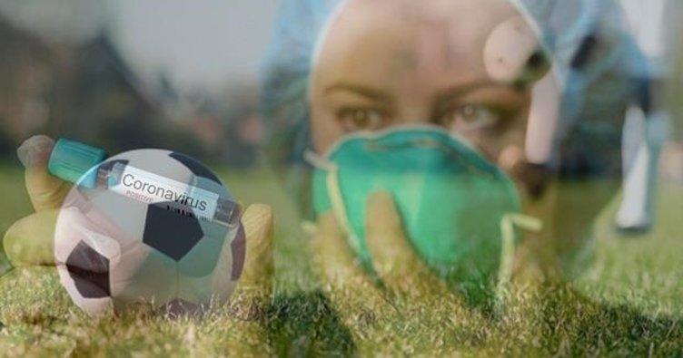 Koronavırüs futbolu zorluyor!