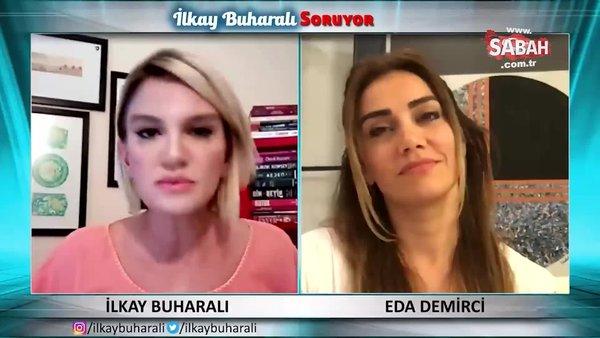 Fox'un dayakçı sunucusu İsmail Küçükkaya'nın eski eşi Eda Demirci'den şok açıklamalar | Video