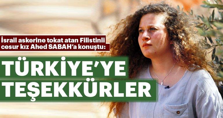 Ahed Temimi SABAH'a konuştu: Türkiye'yeteşekkürler