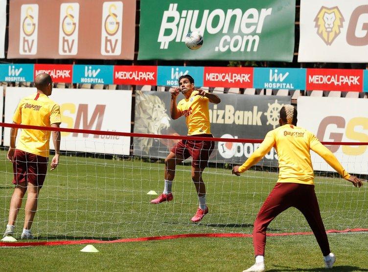 Galatasaray Rizespor hazırlıklarını sürdürdü