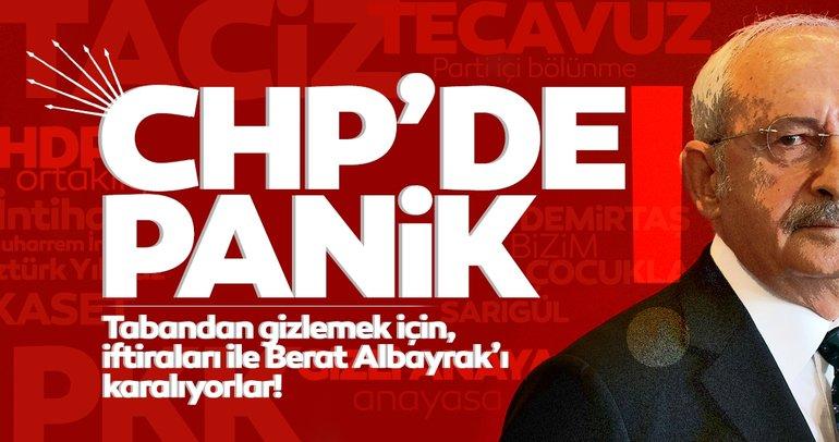 Skandallarla boğuşan CHP'de panik! İç sorunların üzerini ekonomi saldırıları ile örtüyorlar!