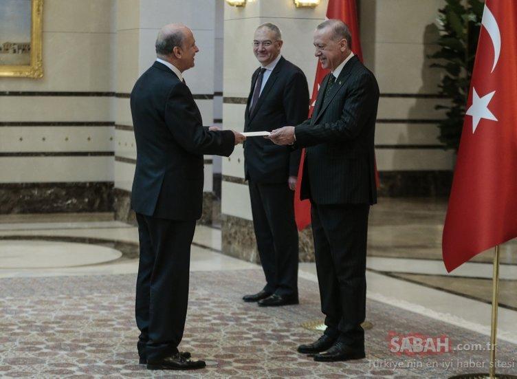Başkan Erdoğan'dan Koronavirüs önlemi! Külliye'de dikkat çeken an...