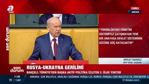MHP Lideri Devlet Bahçeli'den provokasyon yapan Yunan Dendias'a: