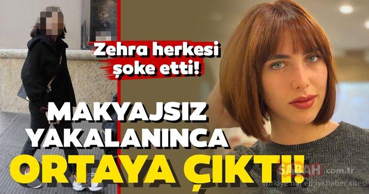 Hülya Avşar'ın kızı Zehra Çilingiroğlu karantinaya spor arası verdi! Zehra Çilingiroğlu makyajsız yakalanınca gerçek de ortaya çıktı...