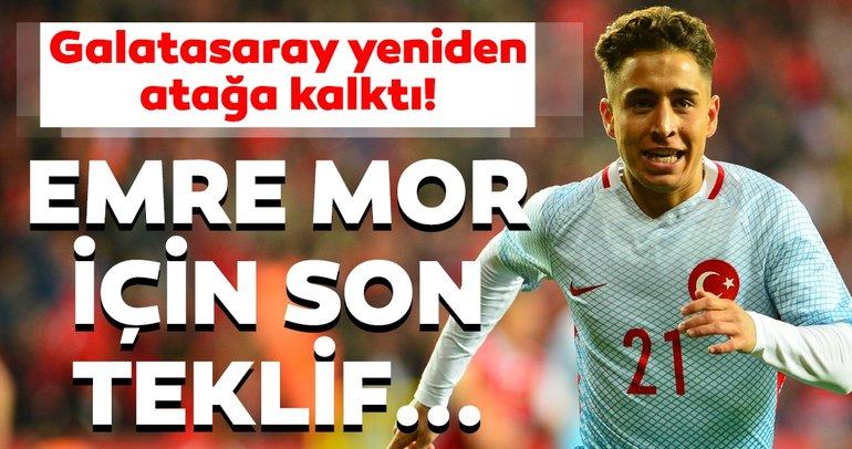 Emre Mor - Galatasaray transferinde son dakika gelişmesi! Sarı kırmızılılardan flaş hamle