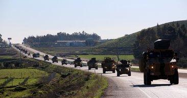 Fırat'ın doğusundaki sınıra büyük sevkıyat