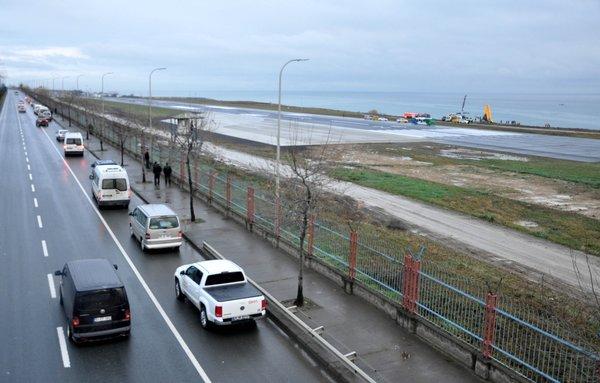 Trabzon'da faciadan dönüldü! Gün ağarınca ortaya çıktı
