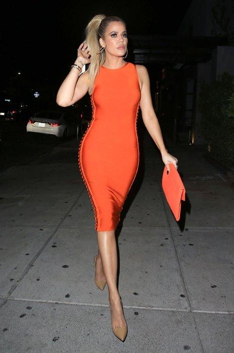 Khloe Kardashian kilolarından kurtuldu