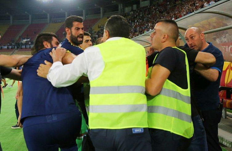 Vardar-Fenerbahçe maçından sonra olay çıktı!