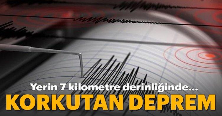 Son dakika: Amasya Merzifon'da korkutan bir deprem oldu