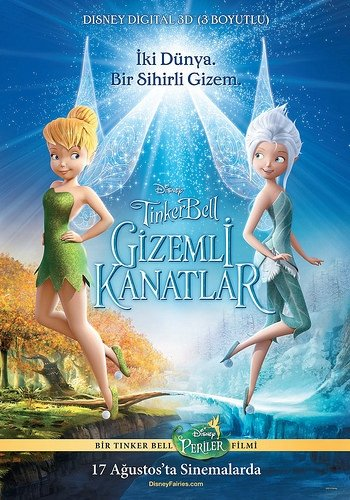 Tinker Bell Gizemli Kanatlar filminden kareler
