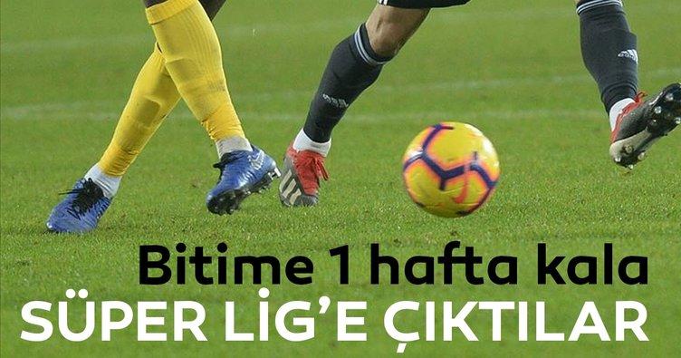 Son dakika haberi: Denizlispor ve Gençlerbirliği Süper Lig'e yükseldi!