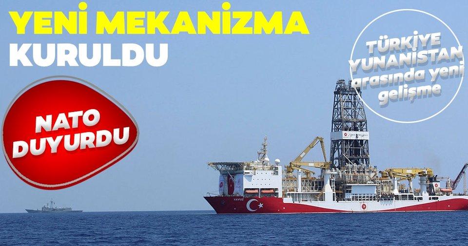 NATO'dan flaş Doğu Akdeniz açıklaması: Türkiye ile Yunanistan arasında yeni mekanizma