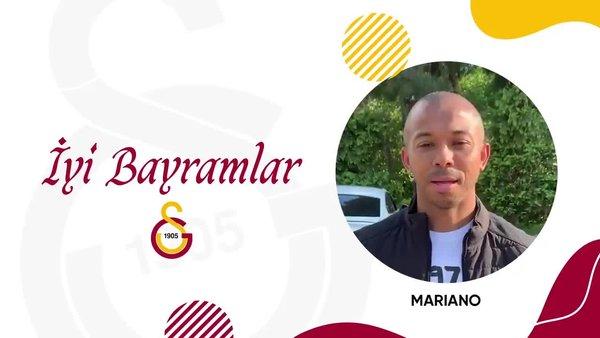 Galatasaraylı futbolculardan bayram mesajı