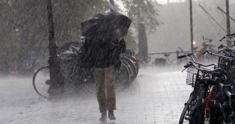 Meteoroloji'den son dakika sağanak yağış, fırtına...