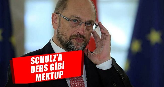 Schulz'a ders gibi mektup