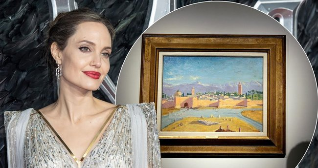 Angelina Jolie'nin Churchill tablosu 11.6 milyon dolara satıldı