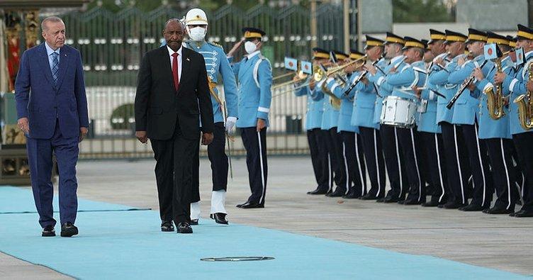 Son dakika... Başkan Recep Tayyip Erdoğan: Türkiye Sudan dayanışması güçlenerek devam edecektir