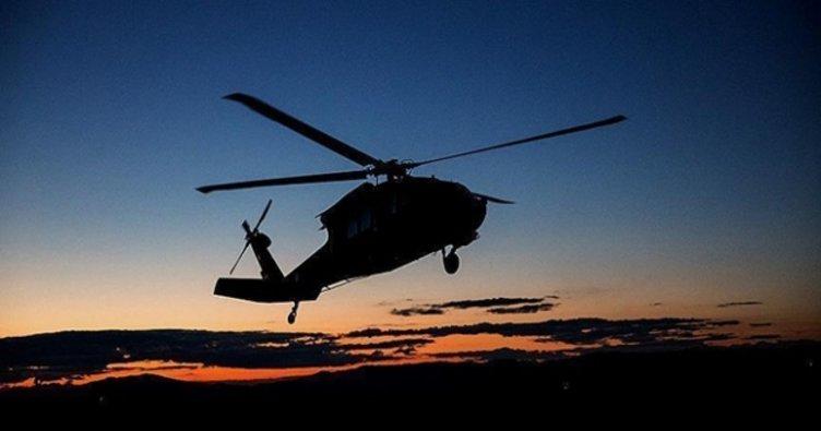 Bulgaristan'da askeri helikopter düştü: 2 ölü