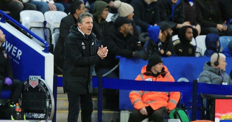 Leicester City'de Claude Puel kovuldu!