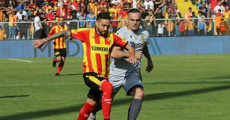 Göztepe: 1 - Yeni Malatyaspor: 1 (Maç sonucu)