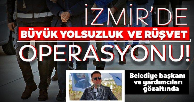 Son dakika: İzmir'de büyük operasyon! Belediye başkanı ve yardımcıları için gözaltı kararı!