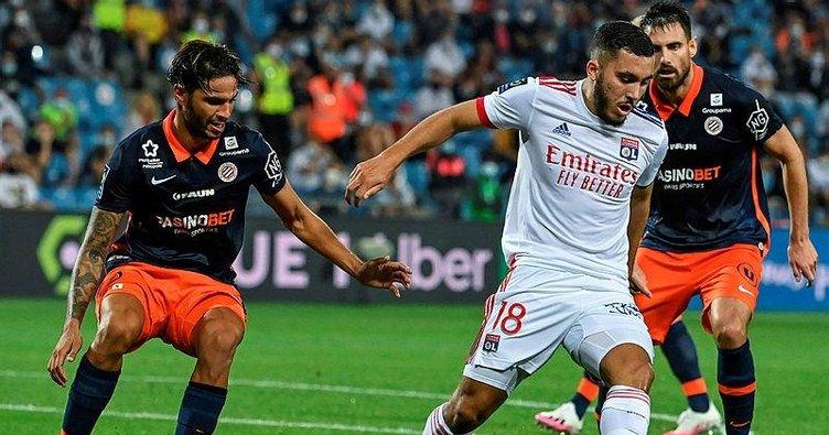 Lyon Montpellier deplasmanında direnemedi! Montpellier 2-1 Lyon | MAÇ SONUCU
