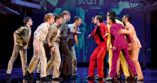 """""""West Side Story"""" müzikali uluslararası turnesine hazırlanıyor"""