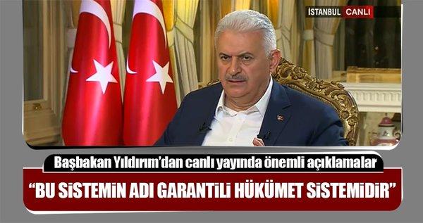 Başbakan Binali Yıldırım canlı yayında soruları yanıtlıyor!