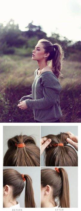En beğenilen at kuyruğu saç modelleri