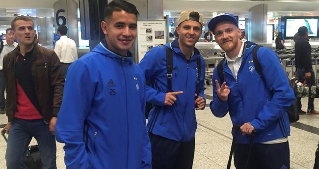 Dinamo Kiev İstanbul'a geldi