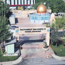 Sultangazi'de Kudüs teması