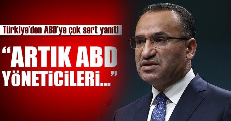 Türkiye'den ABD'ye çok sert yanıt