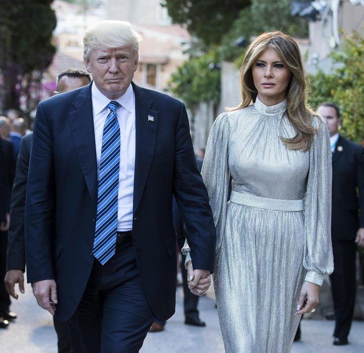 Melania Trump'ın ilham perisi bakın kim çıktı!