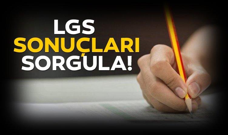 MEB'ten beklenen açıklama! LGS sonuçları 2019 açıklandı! Milli Eğitim Bakanlığı ile Liseye Geçiş Sınavı LGS sınav sonuçları hızlı sorgula