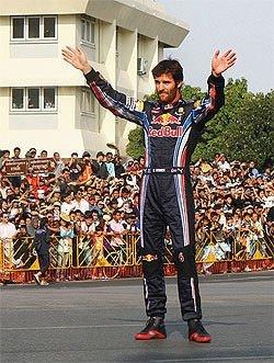 Formula 1 sokağa indi...