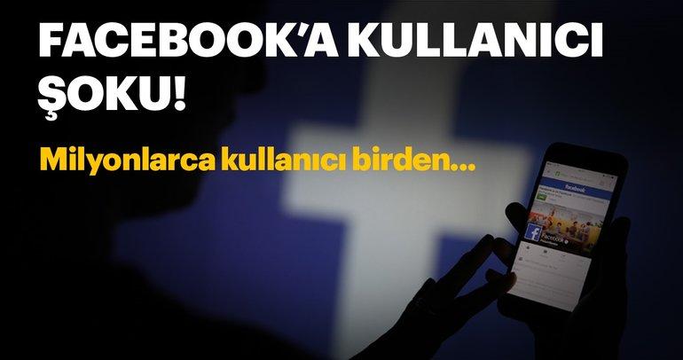 Facebook'a kullanıcılarından şok! 1.8 milyon kişi daha...