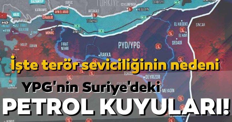 ABD'nin terör seviciliğinin nedeni YPG/PKK'nın petrol kuyuları