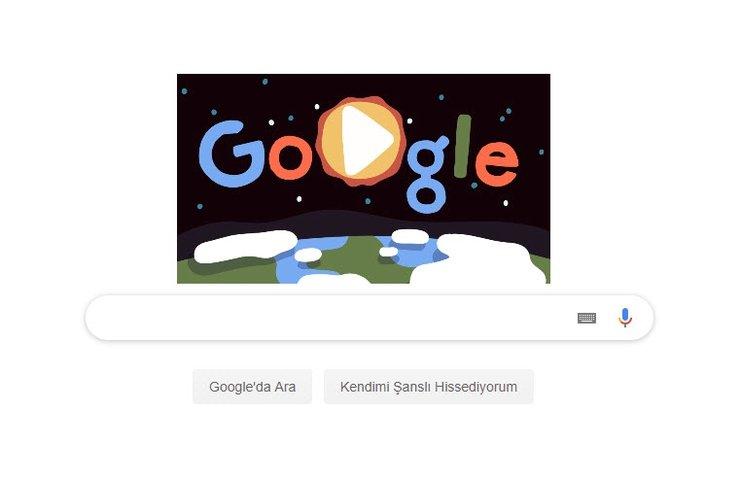Google 22 Nisan Dünya Günü'nü Doodle yaptı!