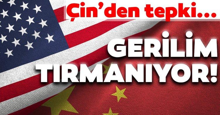 Gerilim tırmanıyor! Çin'den ABD'ye tepki |Amerika'nın provokatif eylemleri...