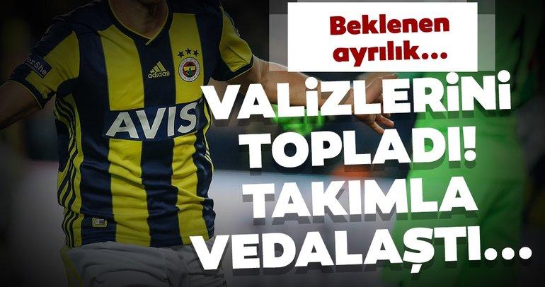 Fenerbahçe transfer haberleri: Eljif Elmas valizlerini topladı, arkadaşlarıyla vedalaştı