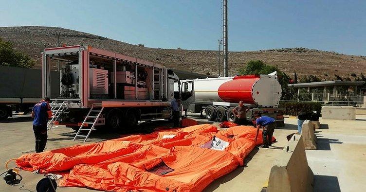 Son dakika: AFAD'dan sınırda kimyasal saldırıya karşı önlem