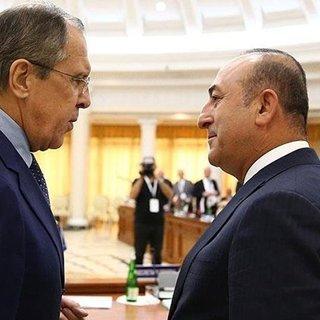 Son Dakika: Mevlüt Çavuşoğlu Rus mevkidaşı ile görüştü