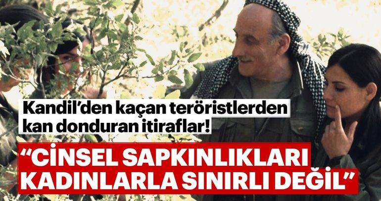 Kandil'den kaçan teröristten kan donduran itiraflar!